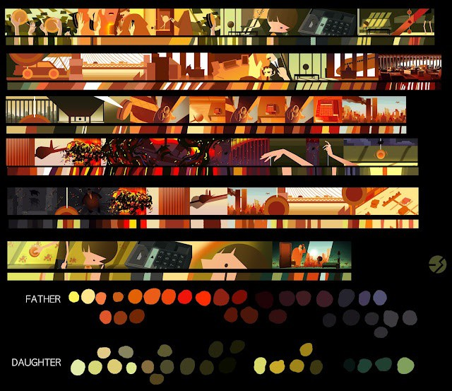 the_incredibles_pixar_colour_script